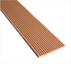 WPC Solid Strip Fascia - Walnut