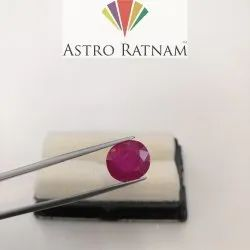 Natural Burma Ruby Heated
