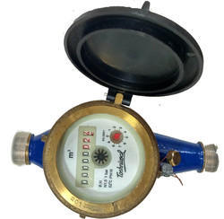 TOSHNIWAL 15mm Brass Multi Jet Class B Screwed Water Meter