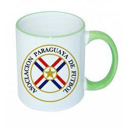 Rim Handle Mug Lt Green