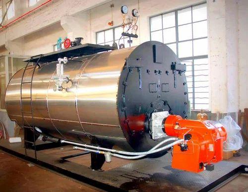 Steam Boiler - Agro Waste Fired Steam Boiler Manufacturer from Meerut