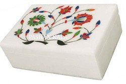 Marble Stone Inlay Box
