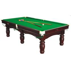 Antique Pool Table with Indian Slate