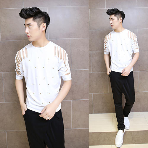 Korean Fashion Men T Shirt Korean Fashion Men S T Shirt Wholesale