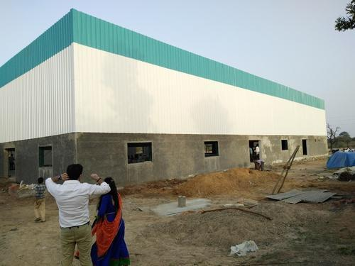 PEB Industrial Shed Fabrication
