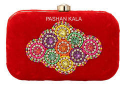 New Design Hand Embroidery Clutch Purse