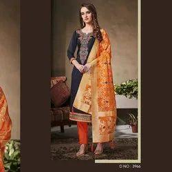 Beautiful Cotton Unstitched Dress