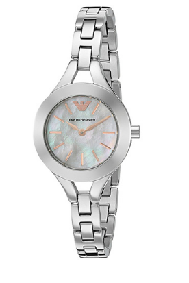 b5c8fcb035d0 Emporio Armani watch - Chiara Shaped Analog Mother Of Pearl Dial ...