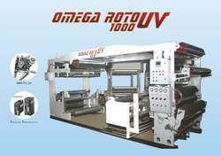 UV Coating on Rotograure Machine