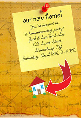 House Warming Invitations Invitations Card Exporter From