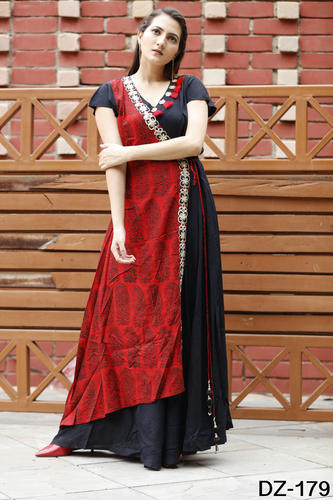 Manufacturer of Rayon Gown & Ladies Rayon Kurtis by Shivam Exports