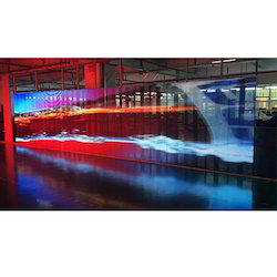 Transparent LED Display Screen