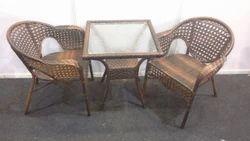 Wicker Metal Chair