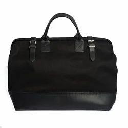 Black Canvas Tool Bag