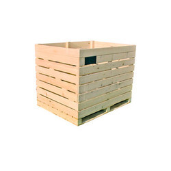 Cold Storage Wooden Bins