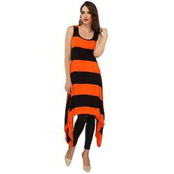 Ira-Soleil-Black-Orange-Polyester-Knitted-Stretchable-Block