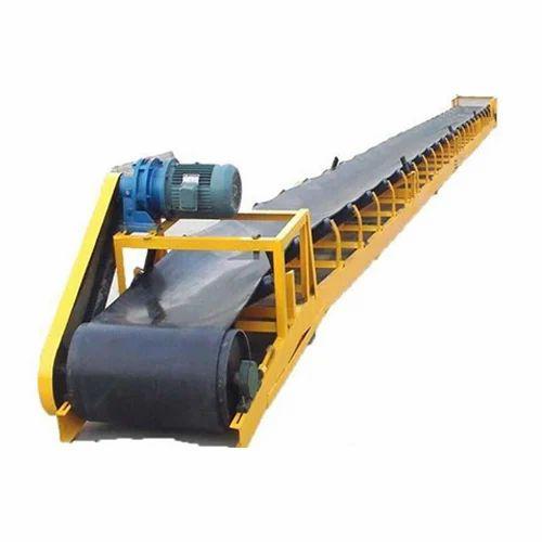 Belt Conveyor for Material Loading