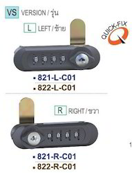 Keyless Locker Combination Lock
