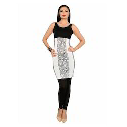 Ira-Soleil-Black-White-Polyester-Knitted-Stretchable-Aztec