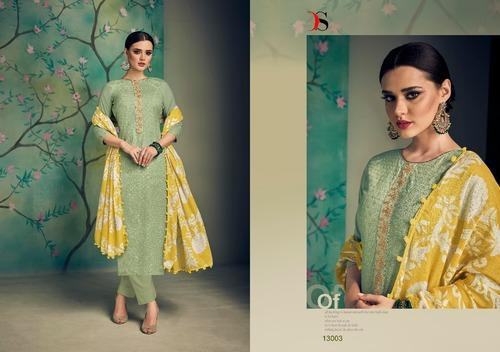76a06503ce Catalog Ladies Suits - Cotton Embroidered Suits Manufacturer from Delhi