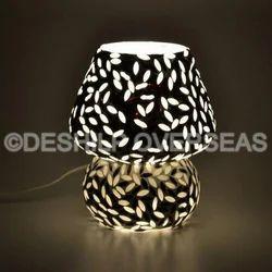 Mosiac Glass Table Lamp
