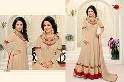 Embroidered Round Neck Suhati Salwar Suit
