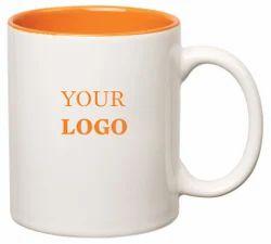 Promotional Inside Orange Mug