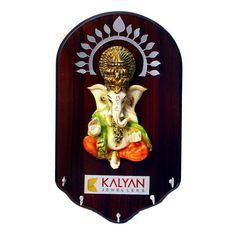 Key Holder with Ganesh Ji Murti