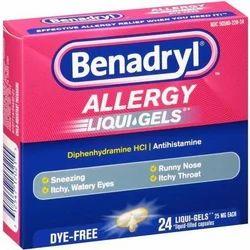 Benadryl Softgel Capsule