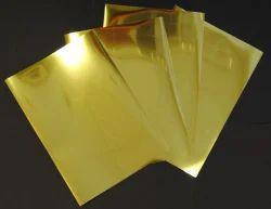 Gold Mirror Sheets