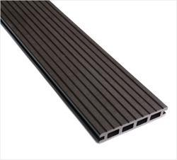 WPC Exterior Floor Decking (Groove Finish) - Brown