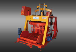 Global 860G cement block making machine