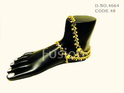 Traditional Antique Payal Anklet