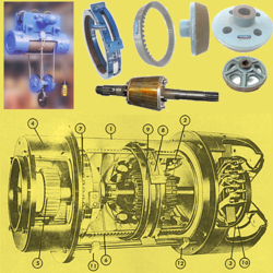 Conical Rotor Motor Hoist Parts