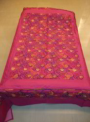 Bed Cover Silk Embroidery Border