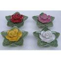 Ceramic Flower in 4 Assorted Color