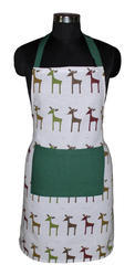 Christmas Cotton Apron