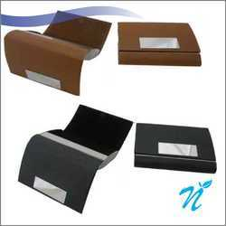 Dual Side Opening Visiting Card Holder NIGMMVCH-029