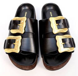 Leather Shoe Buckles