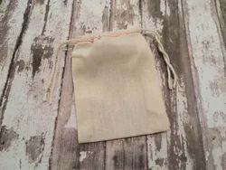 Organic Cotton Natural Cotton Drawstring Tote Bag