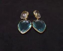 Crystal Quartz Earring Set
