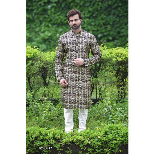 21f01b8e30 Mens Kurta Pyjama - Trendy Digital Printed Men Kurta Payjama ...