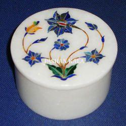 Marble Round Box