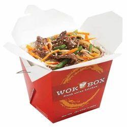 750 ml Square Wok Box