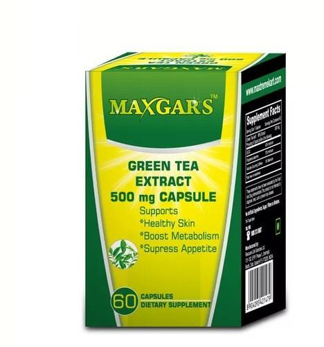 Maxgars Green Tea Extract Capsule