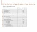 HYSIL Pipe Sections - CURVED SEGMENTS