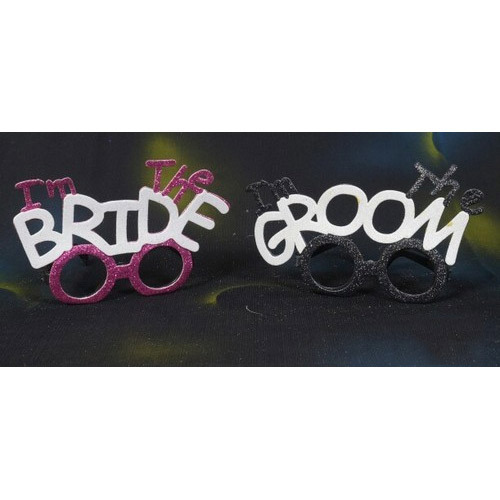 73fb6b49f342 Party Props - Bride Groom Goggles Manufacturer from Indore