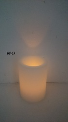 Full Hollow With LED Candle