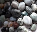 Round Quartz Pebbles Without Polish
