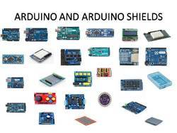 ARDUINO AND ARDUINO SHIELDS